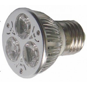 E27 3W LED Spotlight